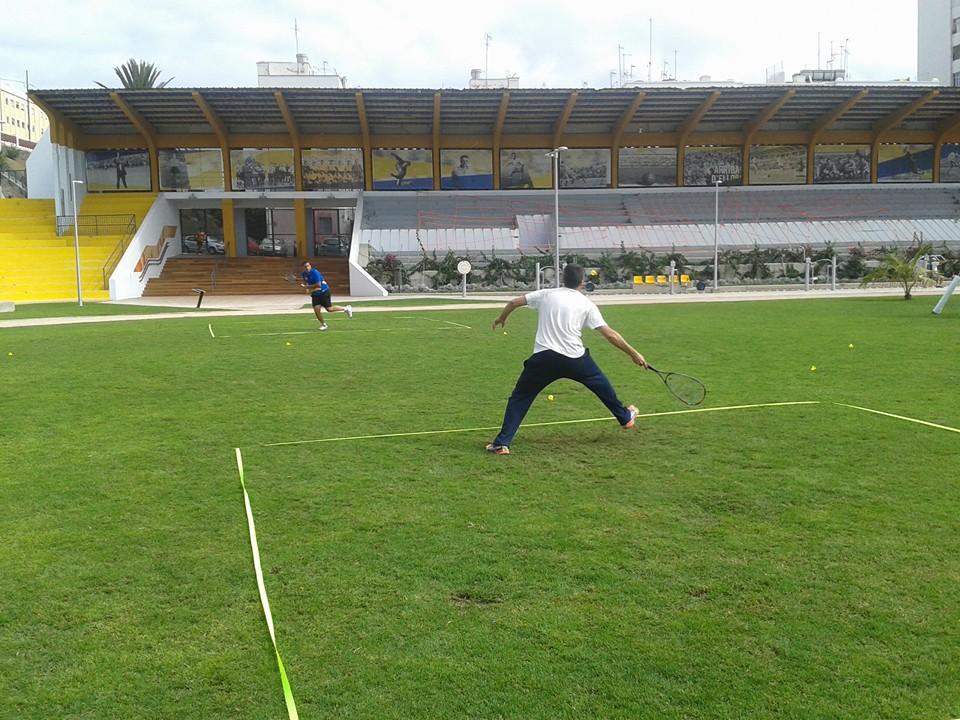 Speedbadminton en Parque Deportivo Estadio Insular