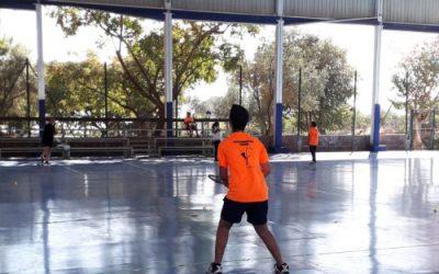 Gran ambiente en el I Torneo de Crossminton 'Canariaspeed a favor de la justicia social por el 8M' celebrado en Valsequillo.